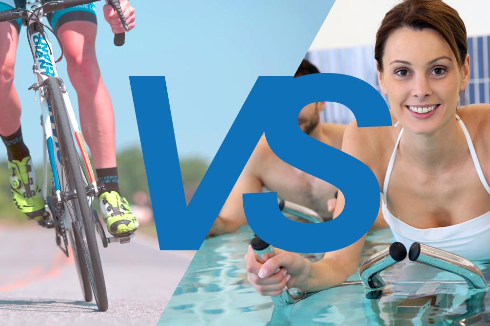Quels sont les avantages de l'aquabiking sur le vélo ?