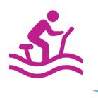 Icône aquabike