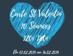 Promo Saint-Valentine : 10 séabces à -60€