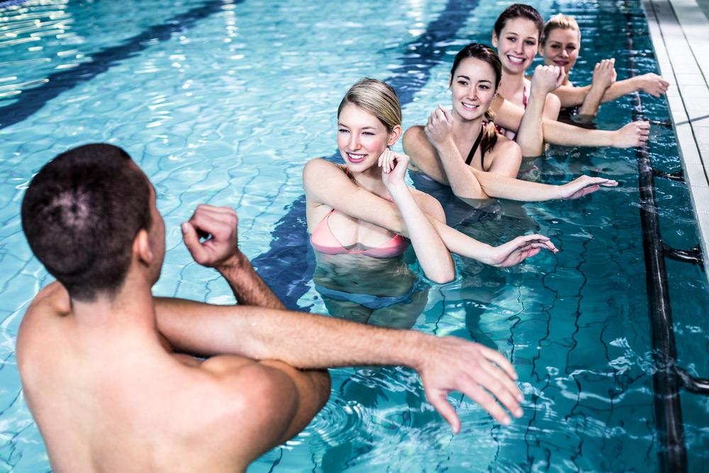 Centre de fitness aquatique sur Cannes mandelieu