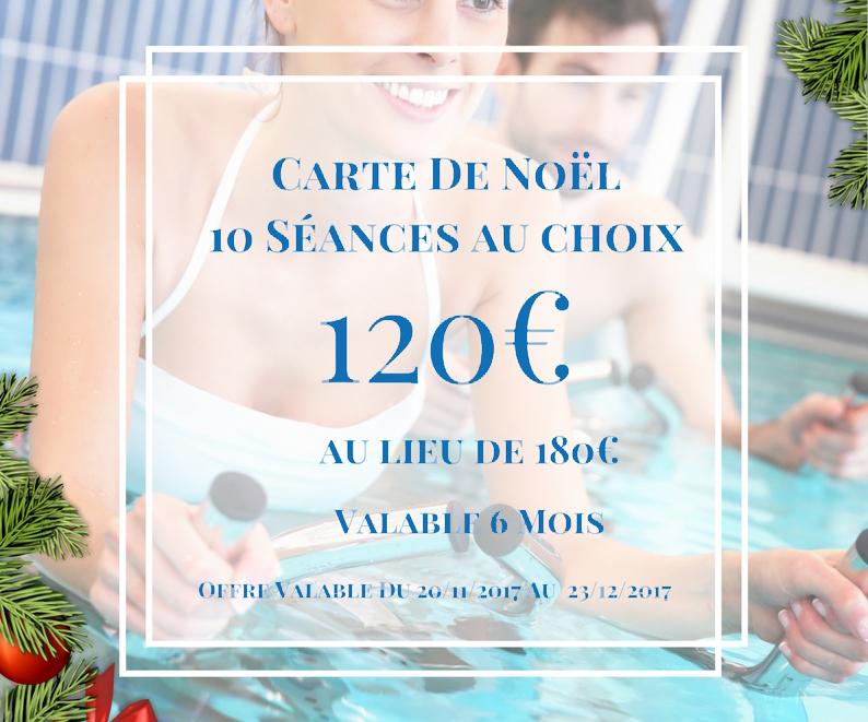 -60€ avec la Carte de Noël O'Fit Center