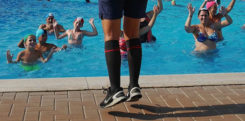L'aquagym, un sport très efficace qui n'agresse pas le corps
