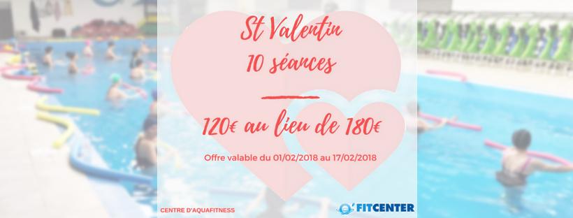 PROMOTION St VALENTIN : 10 séances pour 120€ au lieu de 180€
